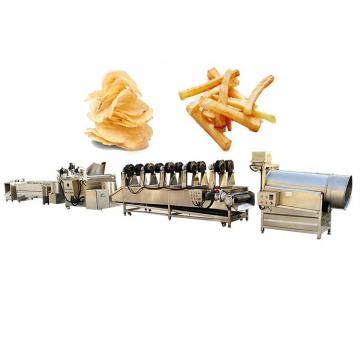 Commercial Automatic Fried Potato Chips Processing Machine